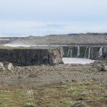 Wasserfall auf dem Weg zum Dettifoss