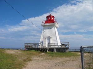 Leuchtturm bei Neil's Harbour