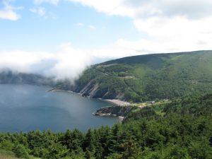 Meat Cove das nördliche Ende von Cape Breton