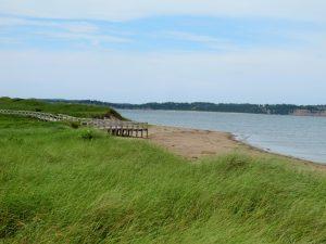 Sandstrand in Cape Breton