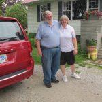 Diane und John, die uns für einen Tag adoptiert haben