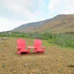 Sharechairs in Trout River - Gros Morne NP