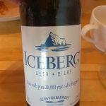 Bier mit Eisberg-Wasser gebraut