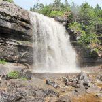 Wasserfall bei Sheaves Cove