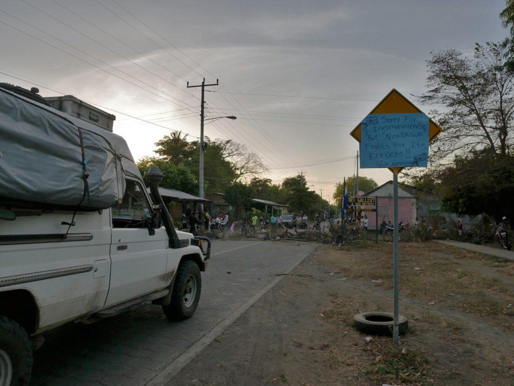 Nicaragua kämpft für seine Freiheit – in den letzten Tagen erleben wir Straßensperren