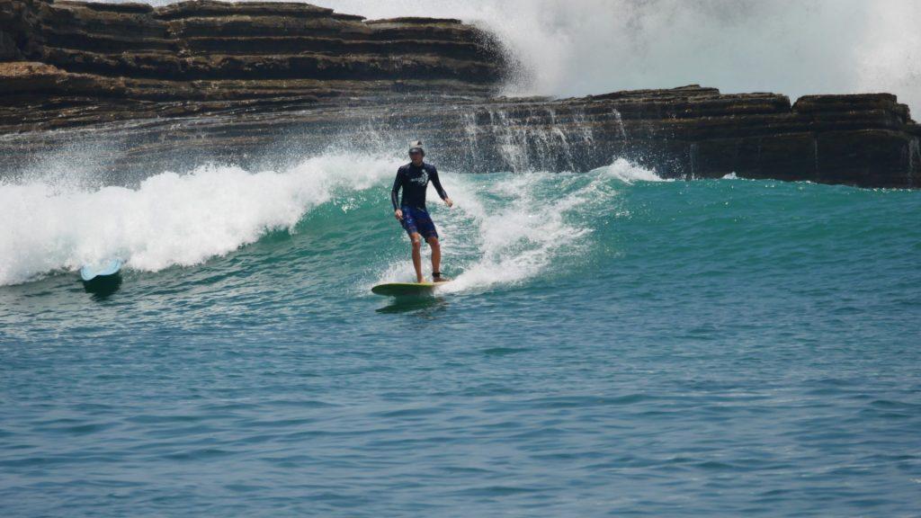 8_Surfen in Popoyo, der Point Break ist ideal für Anfänger und Longboards