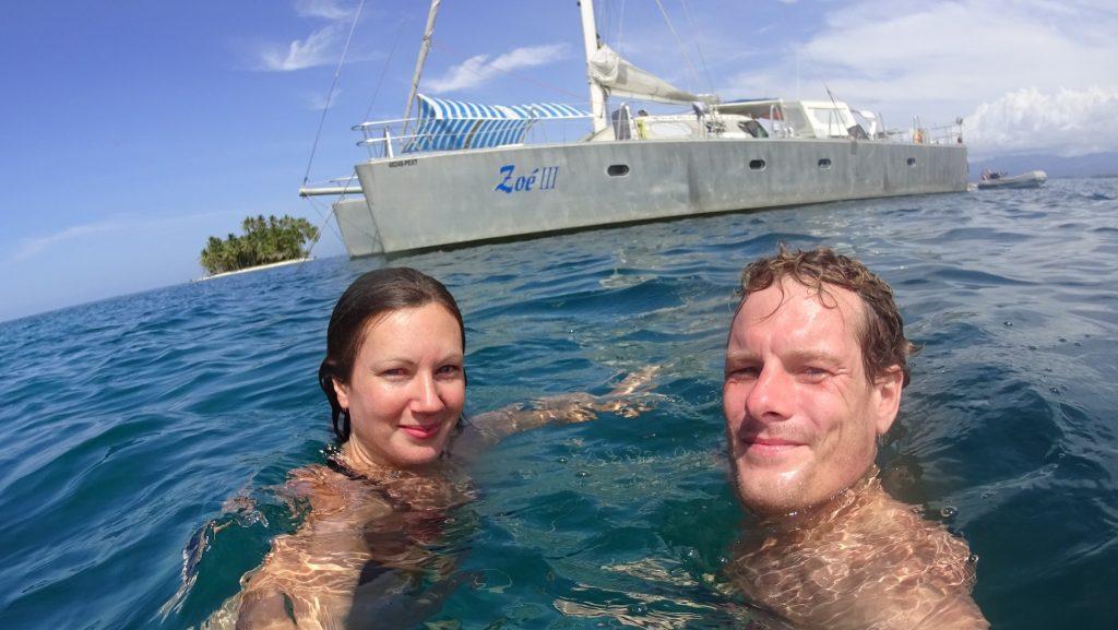 Mit dem Segelboot von Panama nach Kolumbien - unser Ausflug ins Paradies