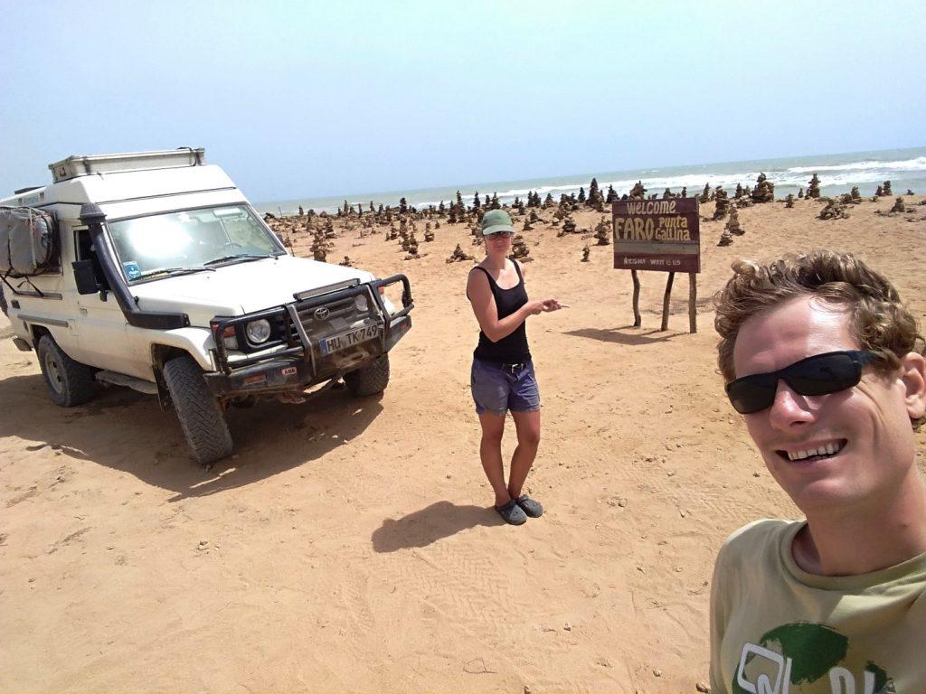 Yeah, wir sind am nördlichsten Punkt Südamerikas angekommen!
