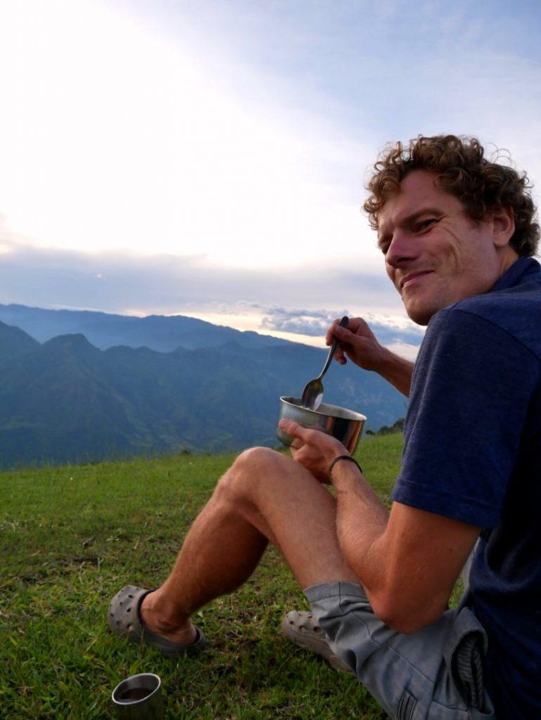 Ein zweites Mal in Kolumbien – statt Sightseeing genießen wir einfach die Aussicht und die Landschaft