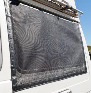 Magnetische Fliegennetze für die Schiebefenster