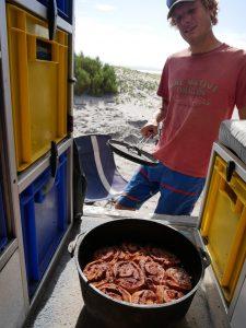 Frische Zimtschnecken aus dem Dutch Oven, Rezept