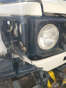 Umlegen vom Windenrelais Toyota Land Cruiser J7